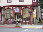 The Desert Rose Cafe in Williamsport, is the meeting place for Fay and the authors of their recent release.